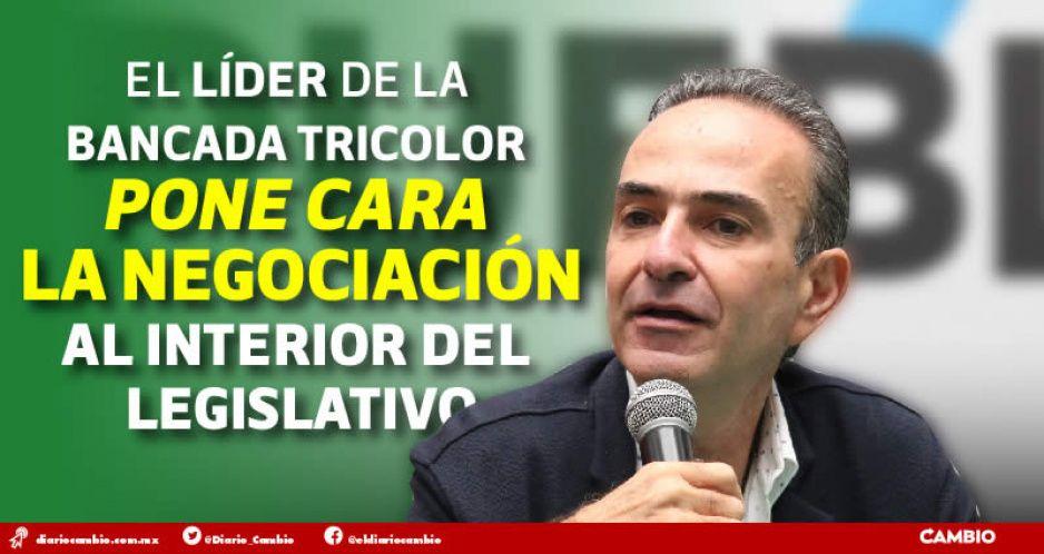 Estefan se pone exigente: quiere para el PRI siete presidencias de comisión en el Congreso (FOTOS Y VIDEO)