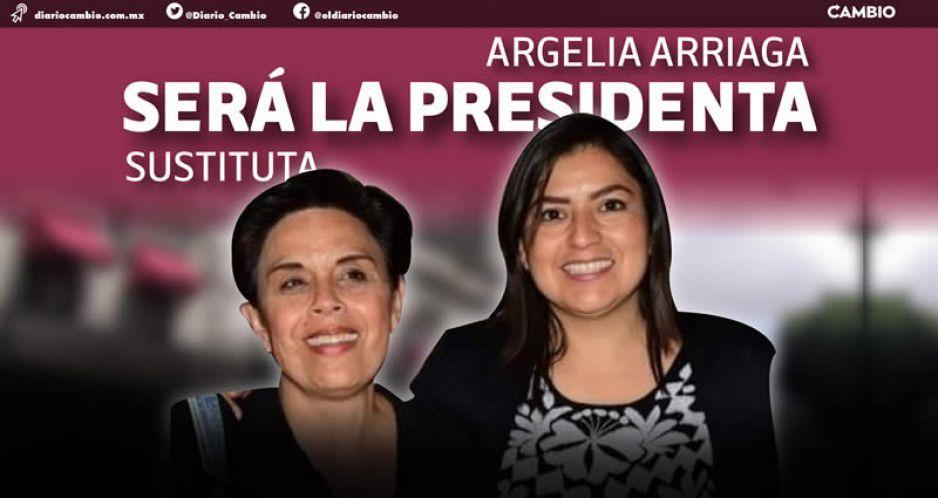 Arranca el gobierno de Claudia...sin Claudia: sientan a Argelia en la silla (FOTOS)