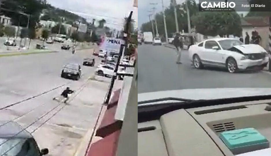 No es la serie de Narcos: se desata fuerte balacera en Coahuila (FUERTE VIDEO)
