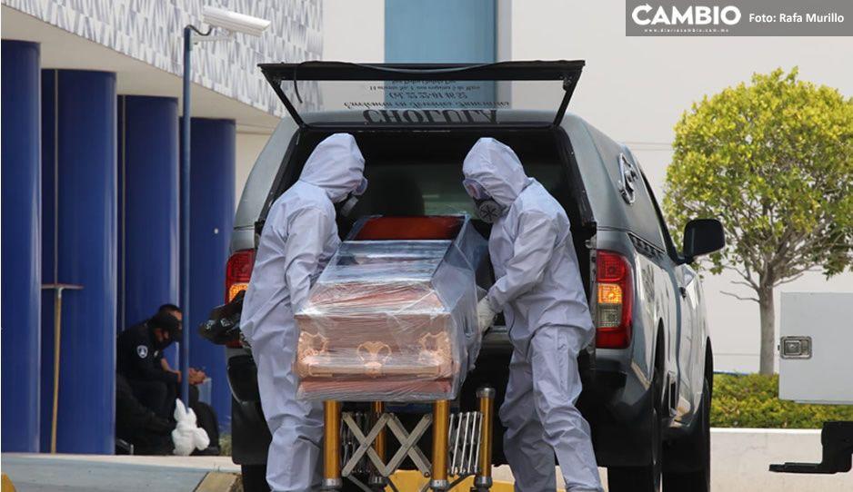 No da tregua el virus en Puebla: 47 muertos y 279 nuevos contagios