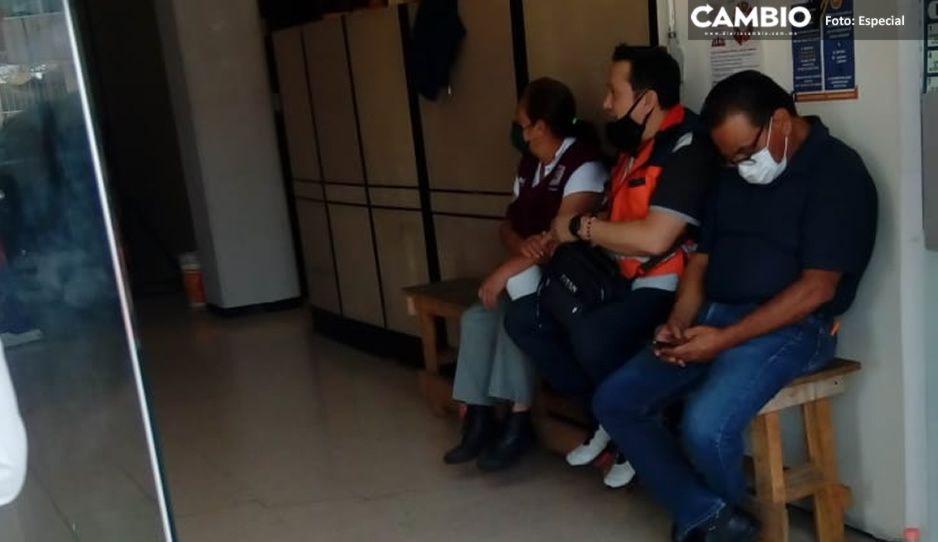 Sindicalizados aprovechan para dormir durante huelga por basificaciones de Claudia