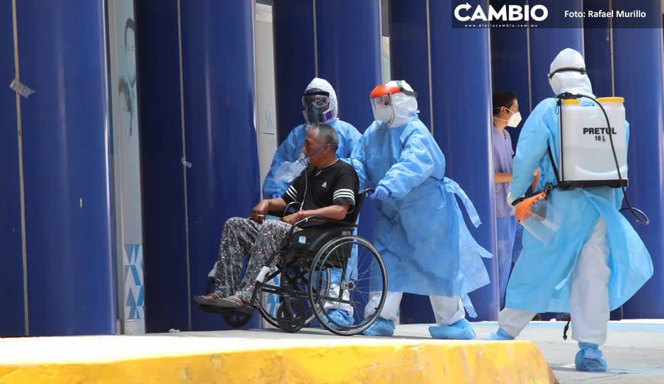 Registra Puebla 148 casos y 28 muertes por COVID en 24 horas (VIDEO)