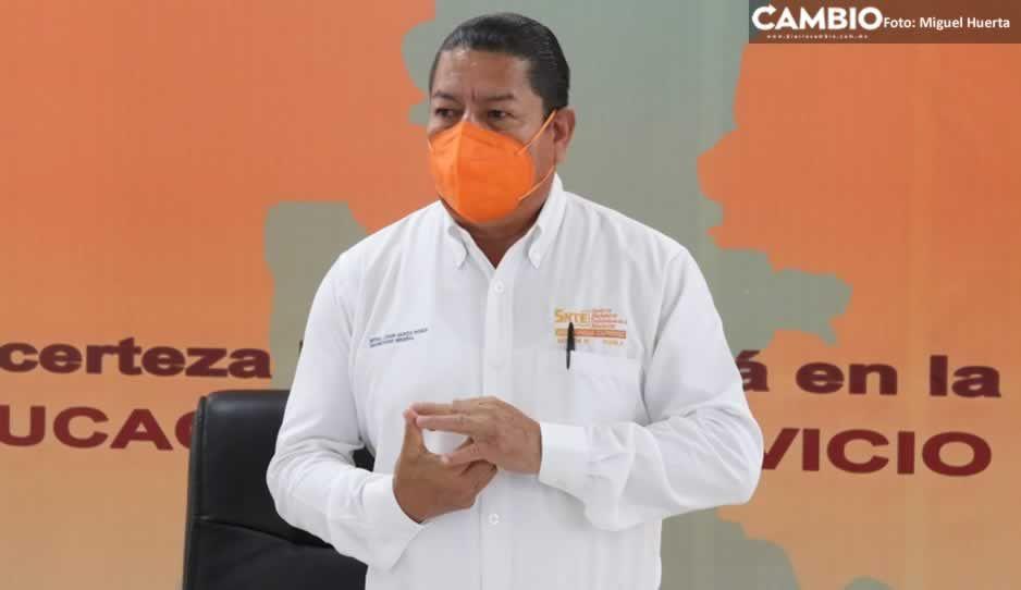 SNTE pide a la federación segunda dosis de CanSino ante el regreso a clases