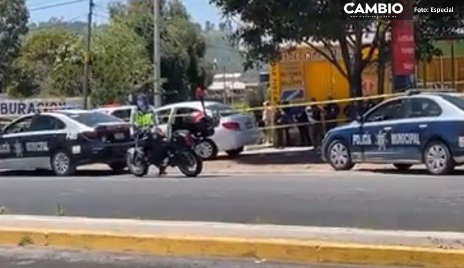 Identifican al hombre asesinado en Cholula; Andrés Vega era elemento del Grupo Táctico