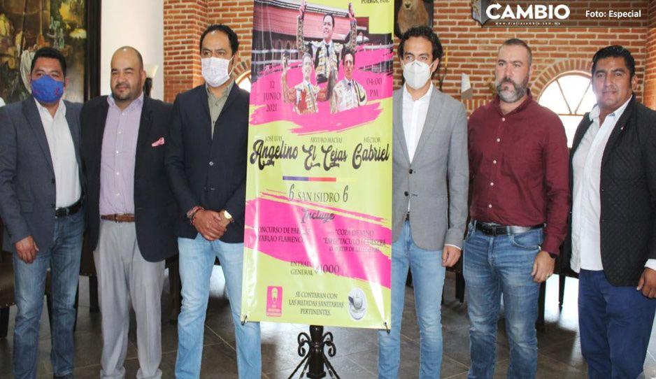 ¡No te lo puedes perder! Toros de San Isidro llegan a Puebla