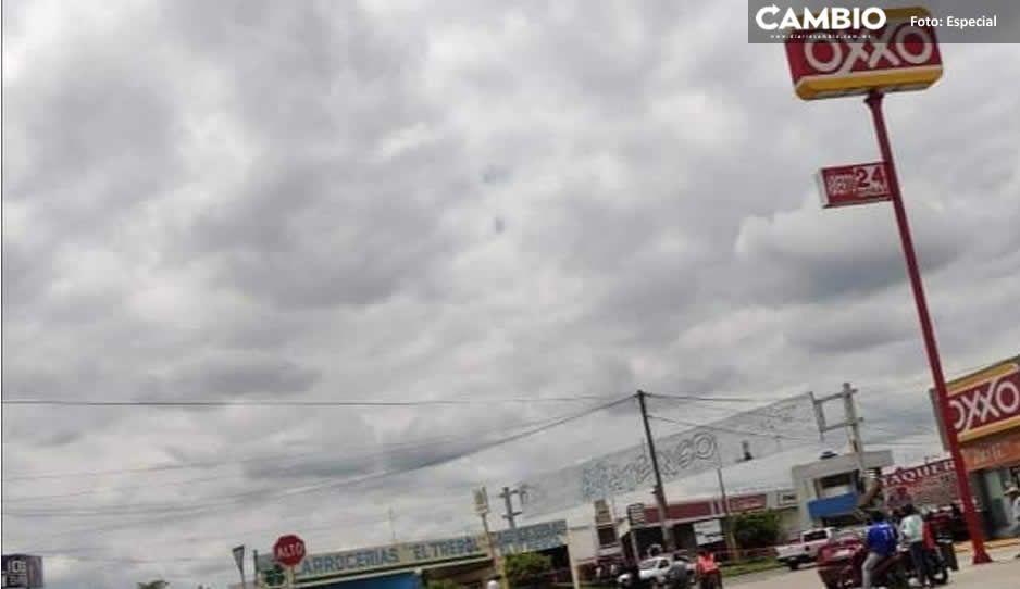 ¡Terror en el Triángulo Rojo! Sicarios fuertemente armados rafaguean a un hombre en Acatzingo