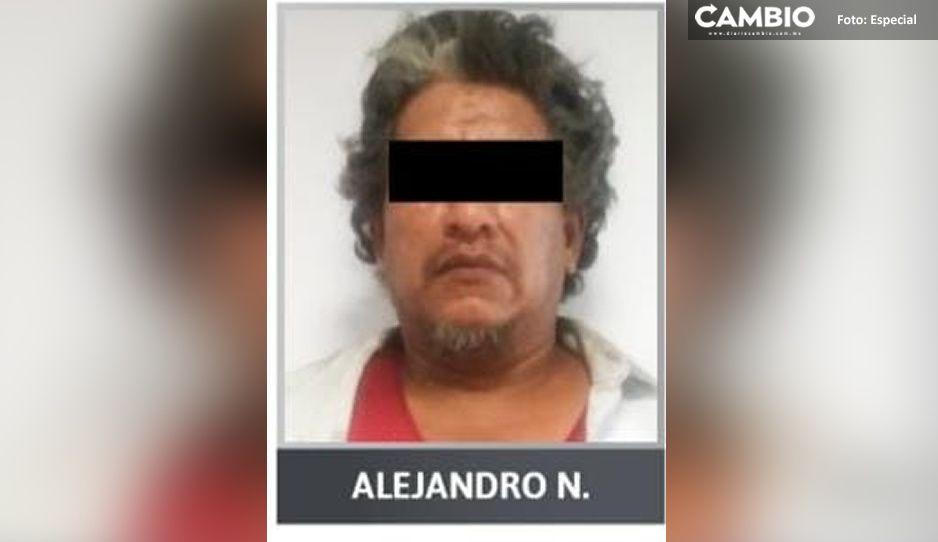 Por atacar con un soplete a su hijastra menor de edad, lo encarcelan en Tulcingo del Valle