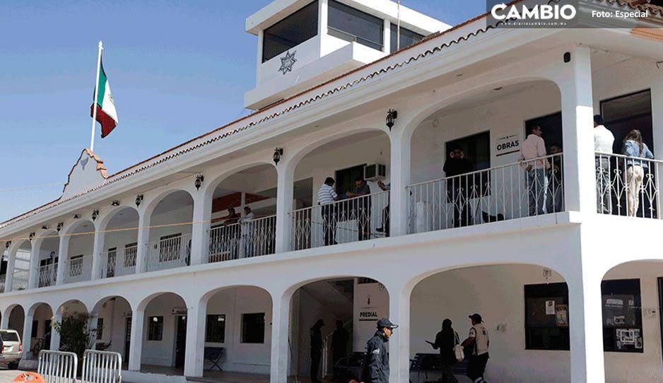 ¿Contagiadero en Ayuntamiento de Ocoyucan? temen que edil y secretarios tengan COVID