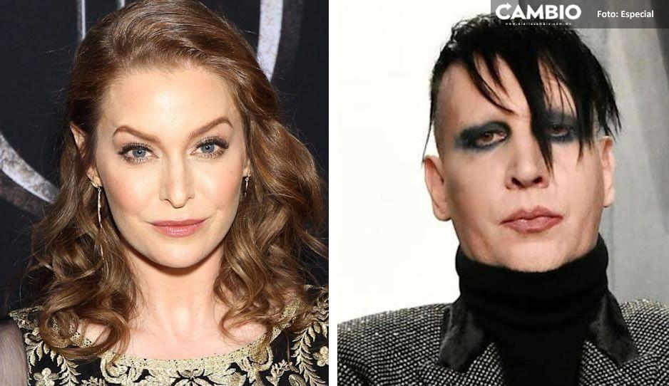 Marilyn Manson me violó y torturó, me cortó con cuchillo nazi: denuncia actriz Esmé Bianco