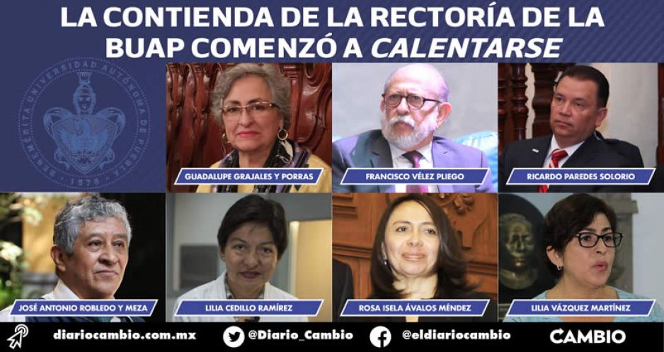 Siete perfiles buscan la rectoría que deja Esparza: Lidia Cedillo la favorita
