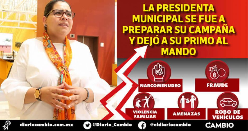 Xicotepec se hunde en la inseguridad mientras Lupe Vargas busca su reelección