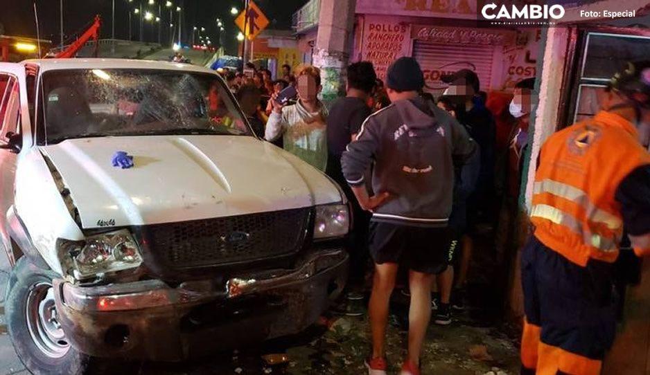 Tras ser atropellada por conductor ebrio en Santa Anita; muere y deja a su hijito en orfandad