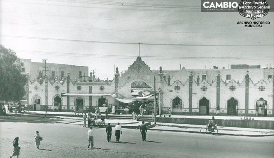 FOTOS: Así lucía El Mercado El Alto en 1958, uno de los más antiguos de Puebla