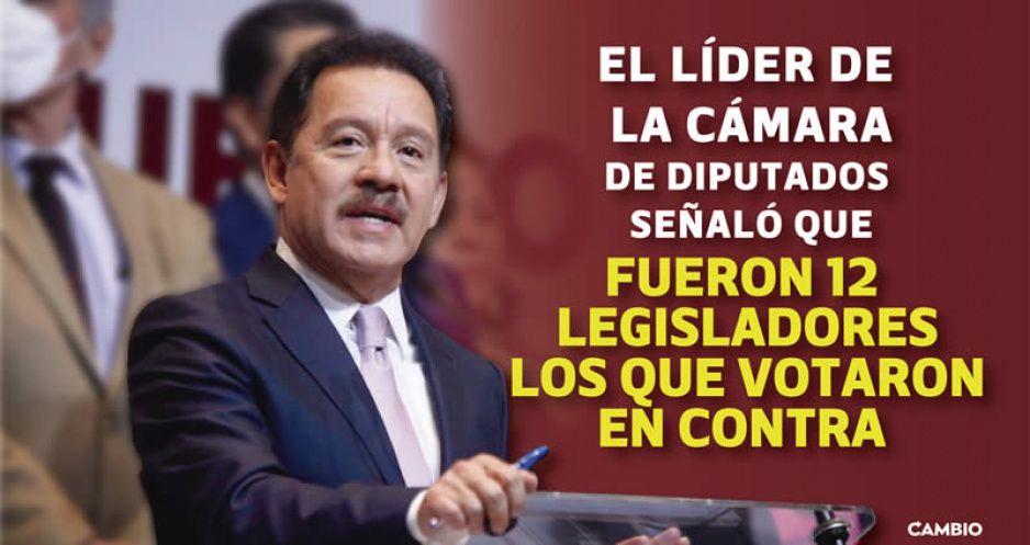 Lamenta Nacho Mier que el PRIANRD bloqueara desafueros de Saúl Huerta y Mauricio Toledo