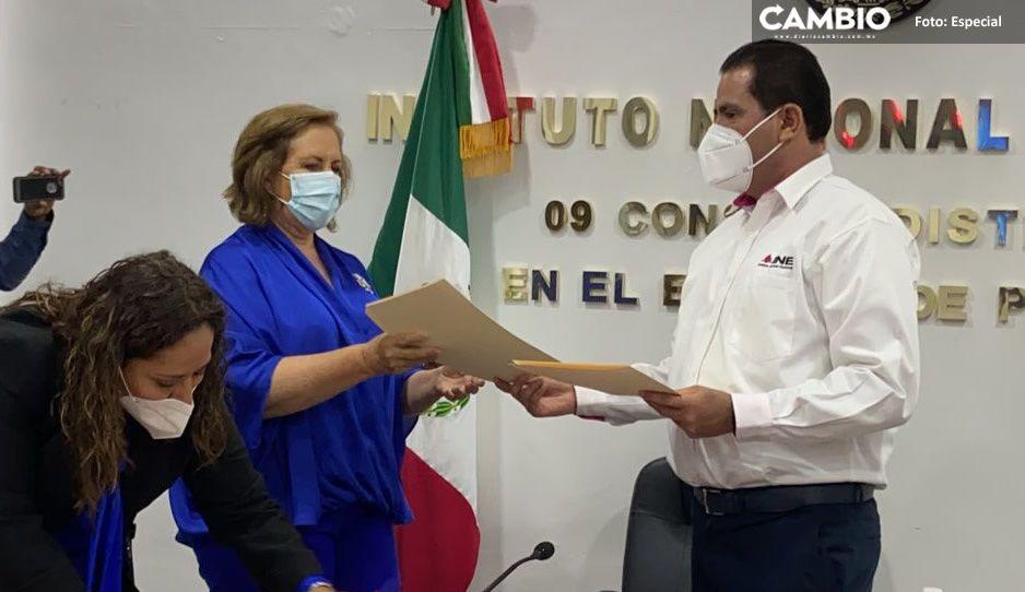 Ana Tere recibe constancia de mayoría como ganadora del Distrito IX