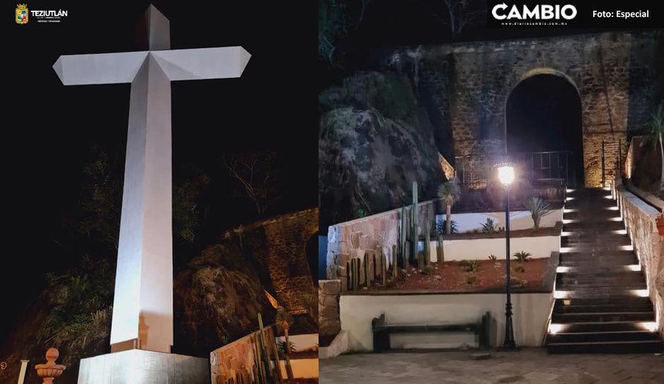 Así luce el Memorial 2020, monumento COVID ubicado en Teziutlán (FOTOS)