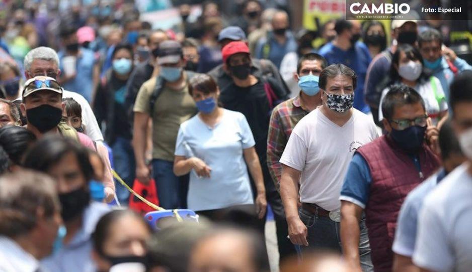 México suma 14 mil contagios nuevos en las últimas 24 hrs, acumulando millón y medio de casos desde que inició la pandemia