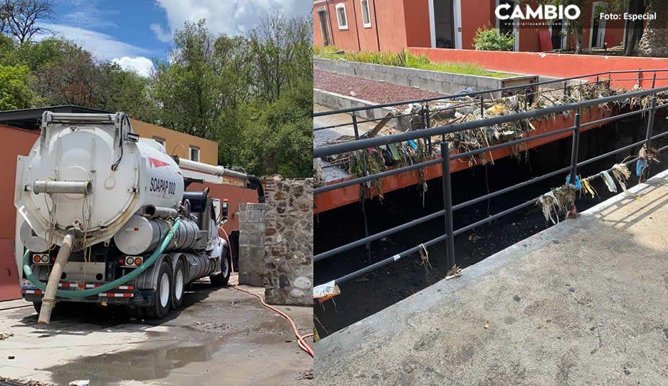 Secretaría de Cultura realiza trabajos de limpieza en recintos museísticos en La Constancia Mexicana