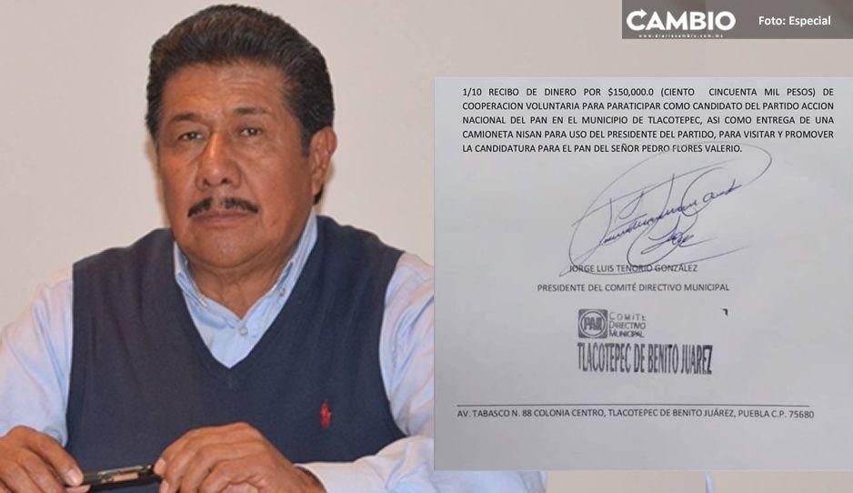 Destapan venta de candidaturas del PAN: aspirante pagó 150 mil pesos y una camioneta