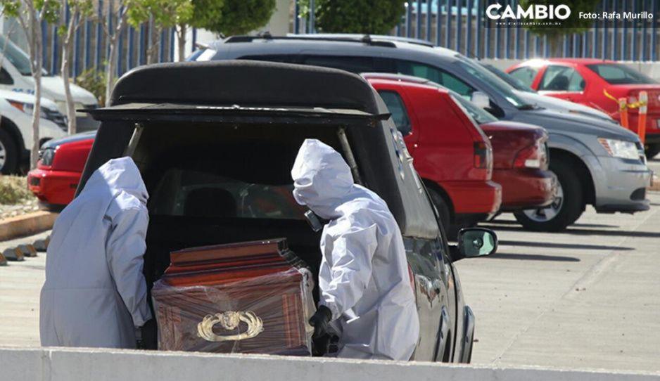 Puebla suma 1 muerto por COVID en un día, cifra más baja durante la pandemia