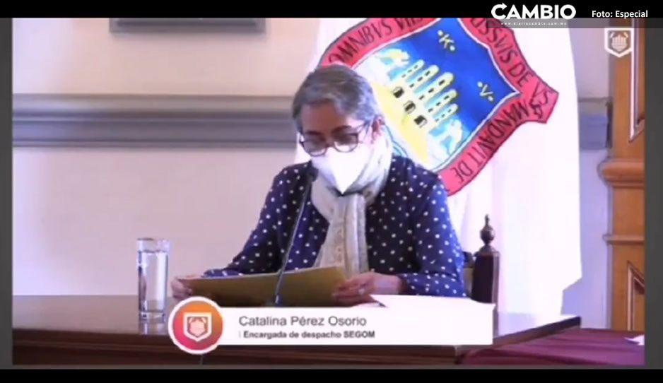 Ayuntamiento otorga 2 mil 500 apoyos a ambulantes, sólo faltan 35 por dar: Catalina Pérez (VIDEO)
