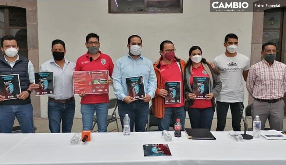 """Nace club de Futbol """"Deportivo Teziutlán"""" en Primera y Segunda División Profesional"""
