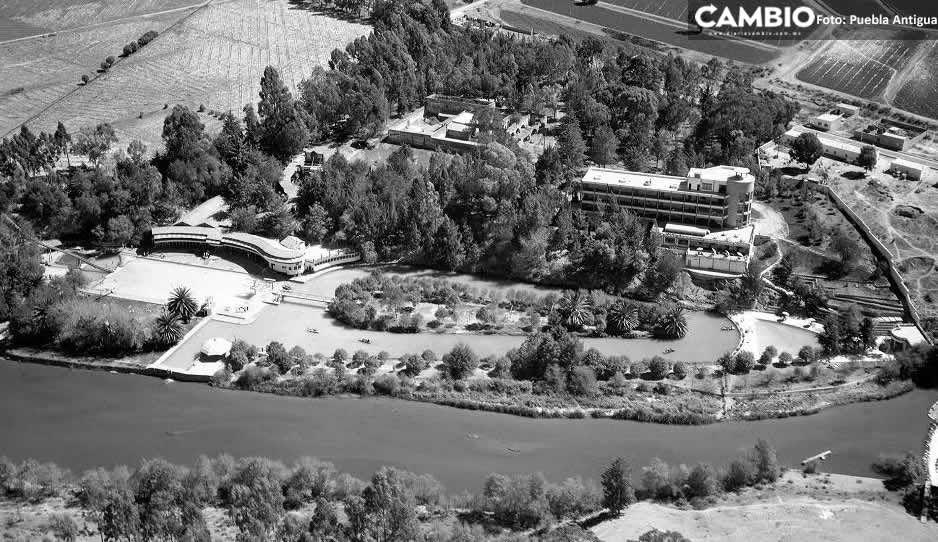 FOTOS: Así se veía el Balneario Agua Azul el siglo pasado