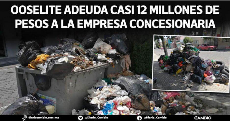 Tehuacán sufre otra vez parálisis en recolección de basura a 23 días del final de Artemio (VIDEO)