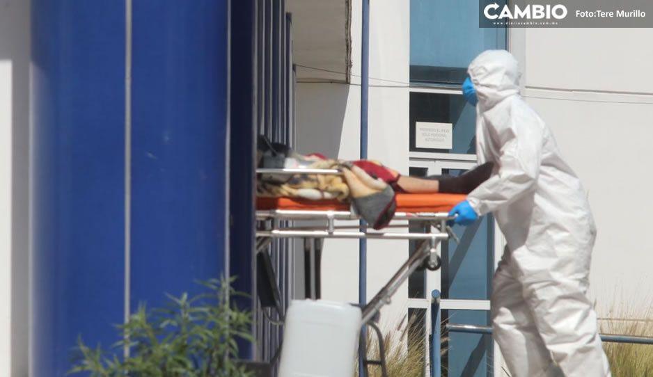 Puebla registra 60 contagios por COVID, 6 muertos y 501 hospitalizados en 24 horas