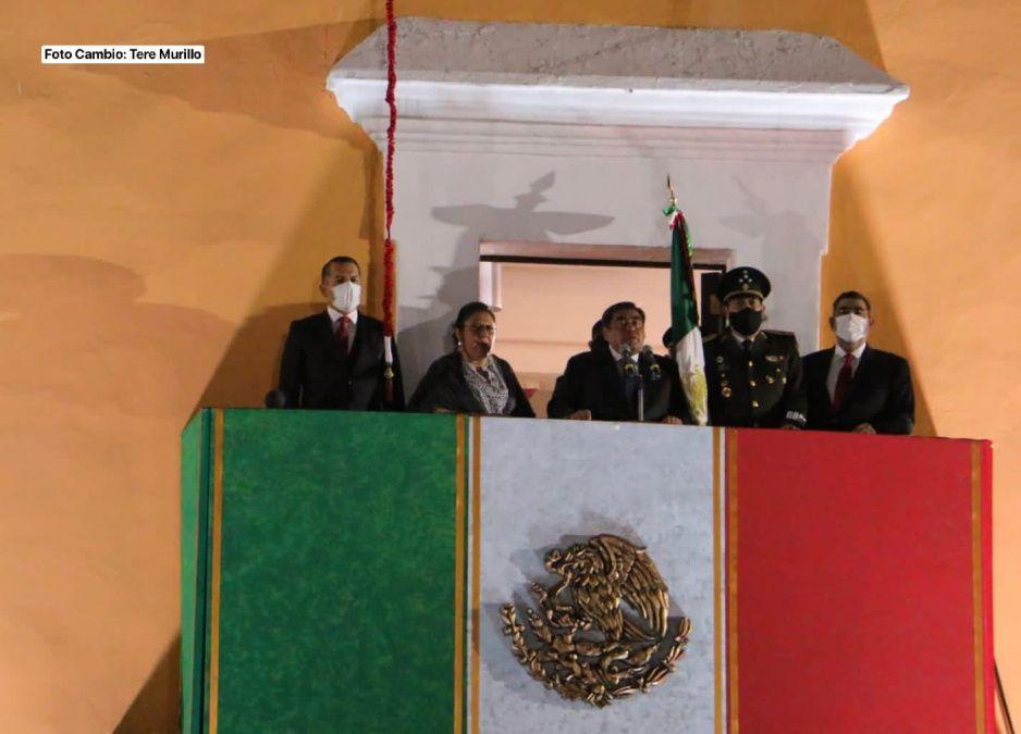Así fue el Grito de Independencia de Barbosa; recuerda a los pueblos originarios (VIDEO)