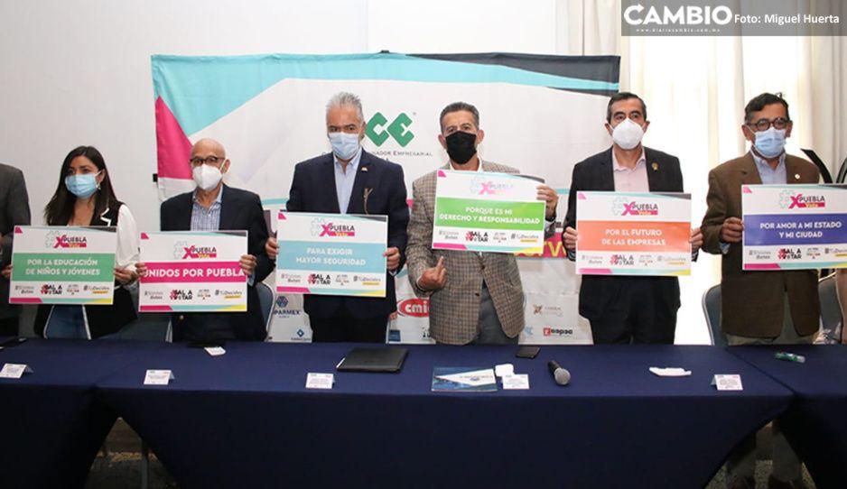 CCE lanza cinco iniciativas para incentivar el voto en Puebla
