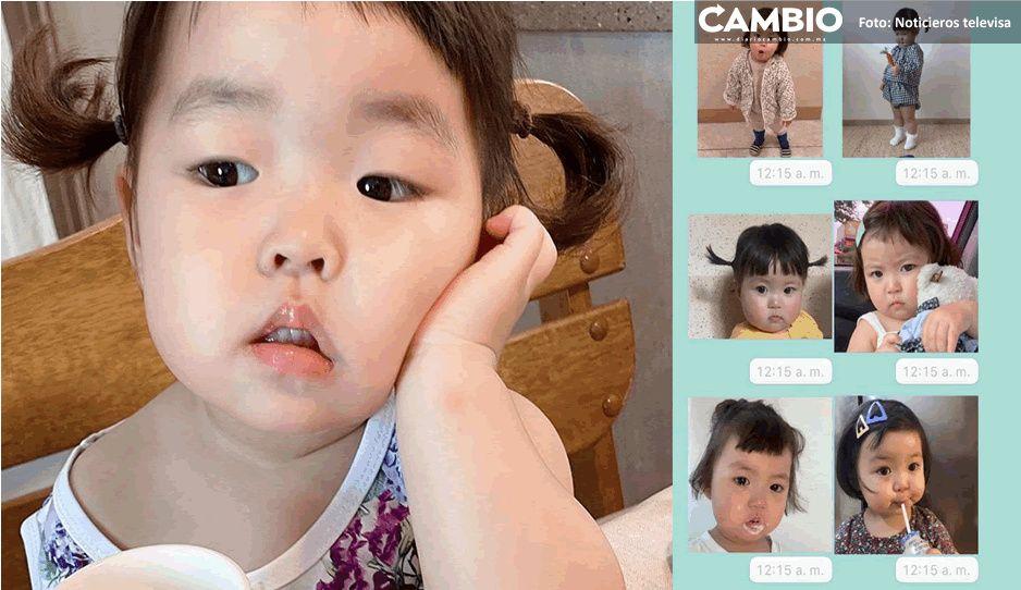 Ya no podrás usar los stickers de la niña coreana; papás preparan demanda
