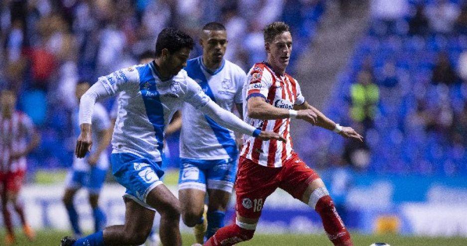 Puebla no puede ni con el San Luis; empatan 2-2 en el Cuauhtémoc (VIDEO)