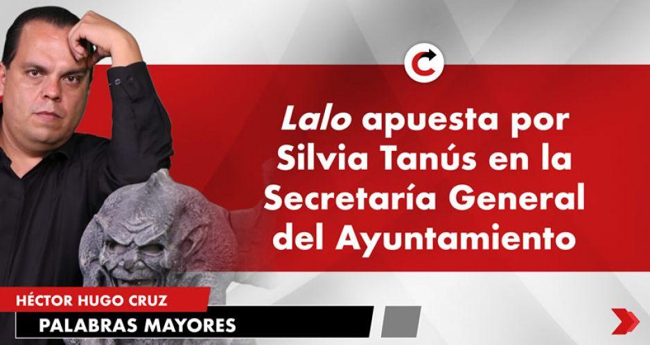 Lalo apuesta por Silvia Tanús en la Secretaría General del Ayuntamiento