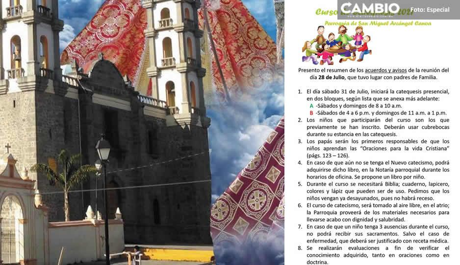 ¡Cuanta imprudencia! Parroquia de Canoa organiza evento con 300 niños en pleno contagiadero