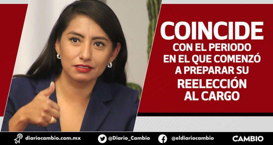 Huejotzingo abandonado: Angélica Alvarado no realizó ninguna obra en lo que va del 2021