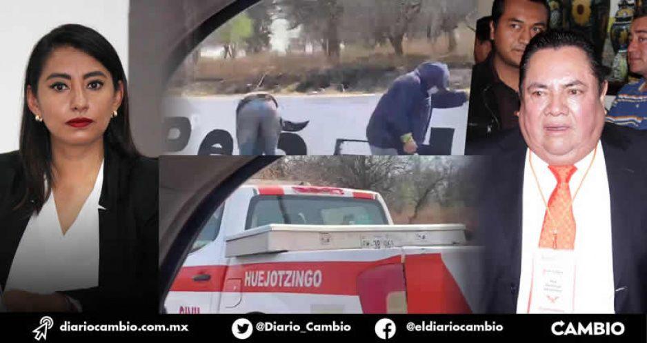 Angélica Alvarado desafía a Miguel Barbosa y apoya candidatura de Noé Peñaloza