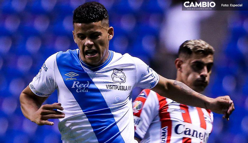 Puebla pierde contra el San Luis en el Cuauhtémoc al medio tiempo (VIDEO)