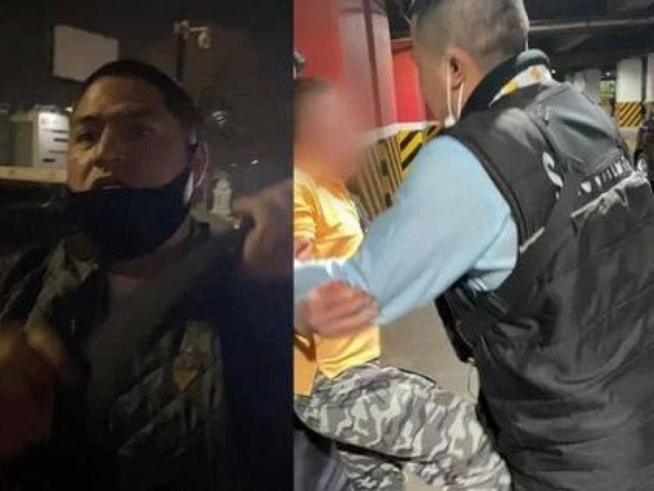 Guardias golpean a pequeño vendedor de dulces en estacionamiento de Plaza Mundo (VIDEO)