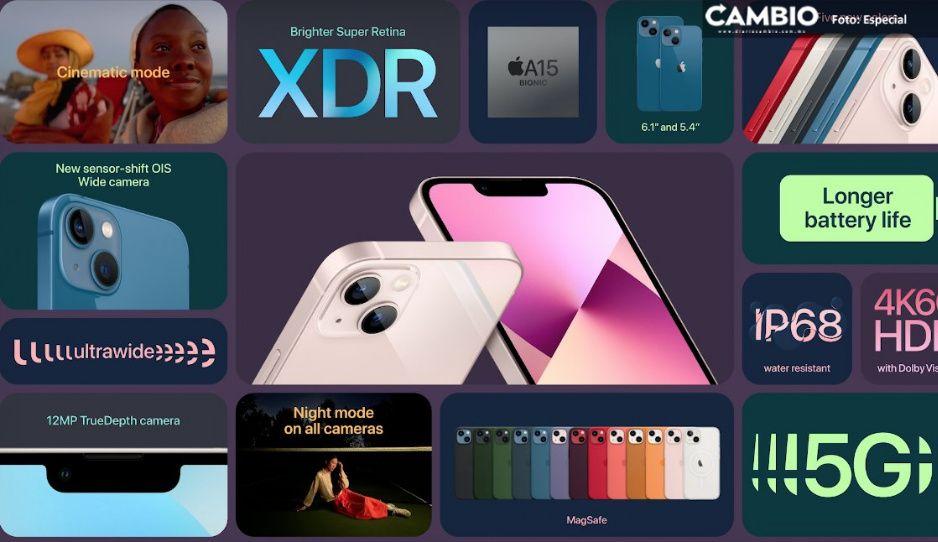 ¡La espera terminó! Llega iPhone 13: conoce sus características y precio