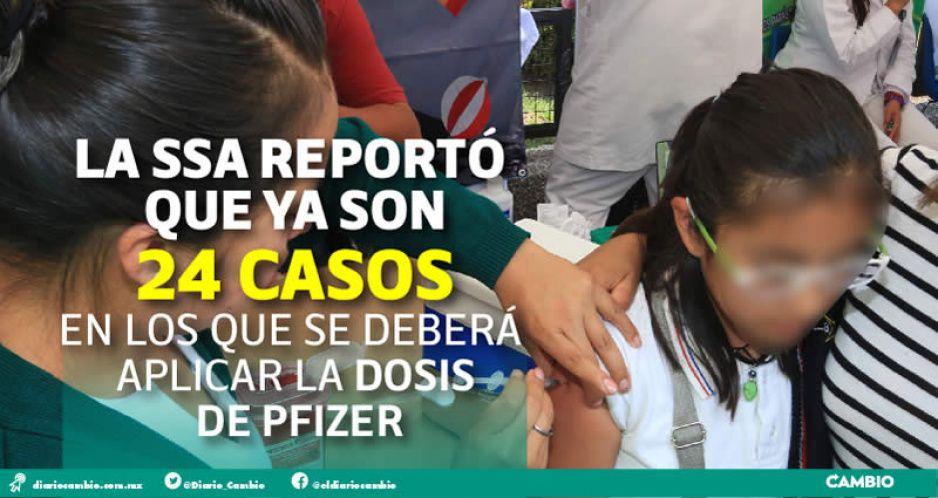 Autoriza Barbosa vacunar a menores poblanos que ganen amparos (VIDEO)