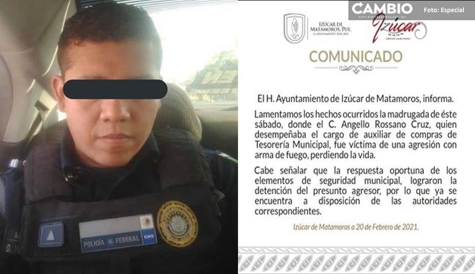 Elemento de Guardia Nacional asesina al esposo de su amante en Izúcar