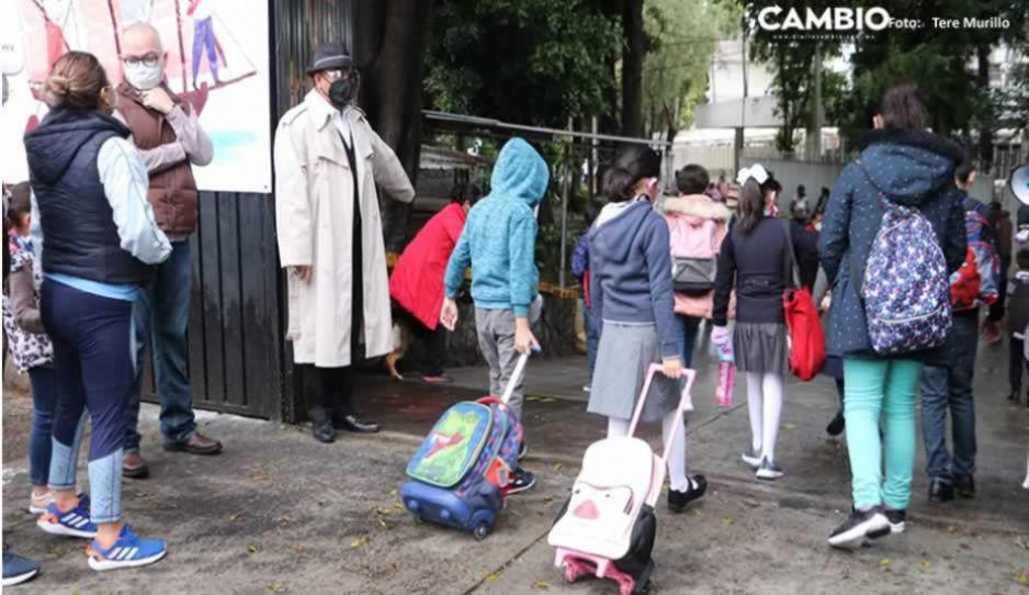 COVID sigue atacando en escuelas: detectan 33 nuevos positivos en Puebla