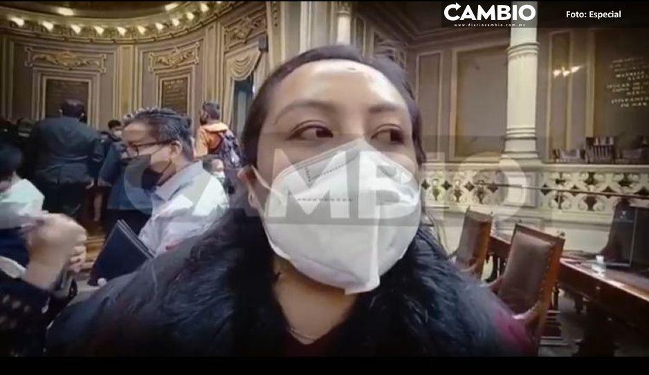 Apoyaré las iniciativas de Barbosa porque soy de Morena: la pluri 5 se deslinda de grupos (VIDEO)