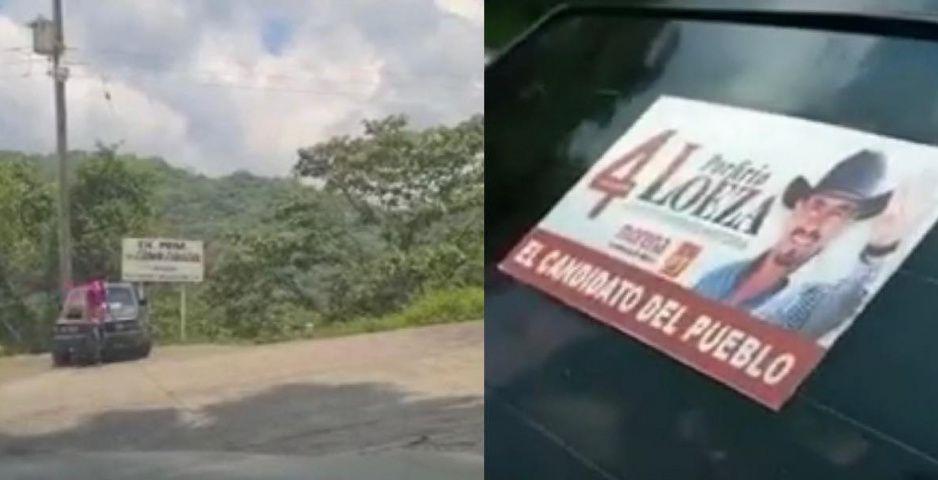 VIDEO: Capacitador del IEE hace promoción a favor de Loeza Aguilar en Tlatlauquitepec
