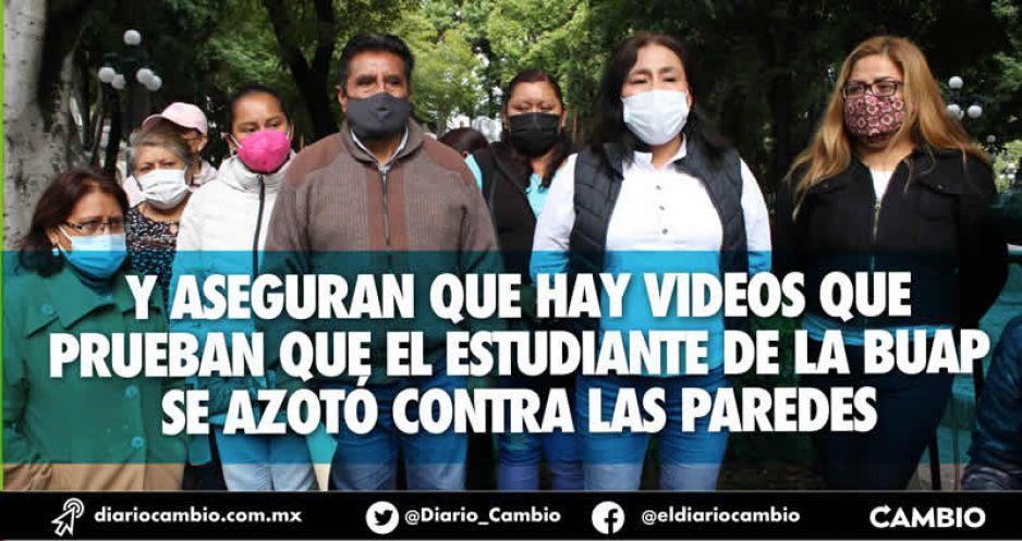 Familiares de los custodios detenidos afirman que Juan Carlos Portillo se suicidó en separos de Xoxtla (FOTOS Y VIDEO)