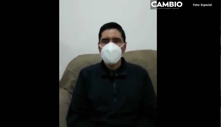 Reaparece Carlos Morales: jura que es un perseguido político y le fabricaron delitos (VIDEO)