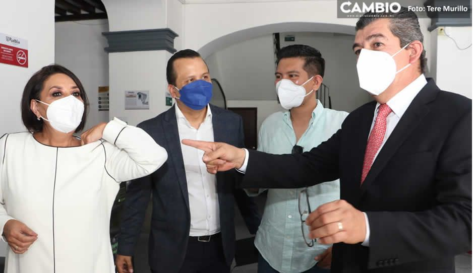 Regidores de Lalo Rivera recorren sus nuevas oficinas; hoy definen integración de comisiones (VIDEO)