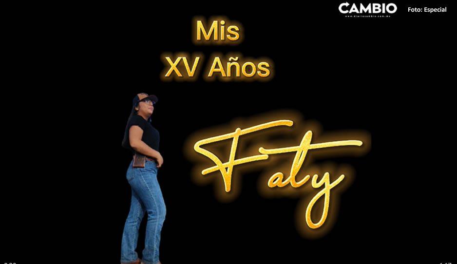"""Nace """"Rubí atlixquense"""" quinceañera Faty organiza covifiestón de tres días (VIDEO)"""