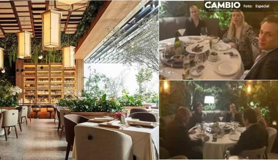 FOTOS: Este es el restaurante fifí donde Lozoya fue balconeado